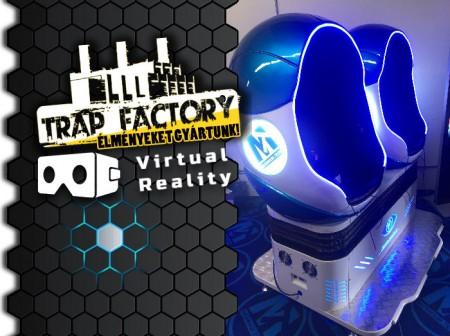 Európában elsőként a Trap Factory-ben!
